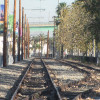 Railroad Tracks In San Pedro