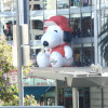 Snoopy Front of Macy's Building
