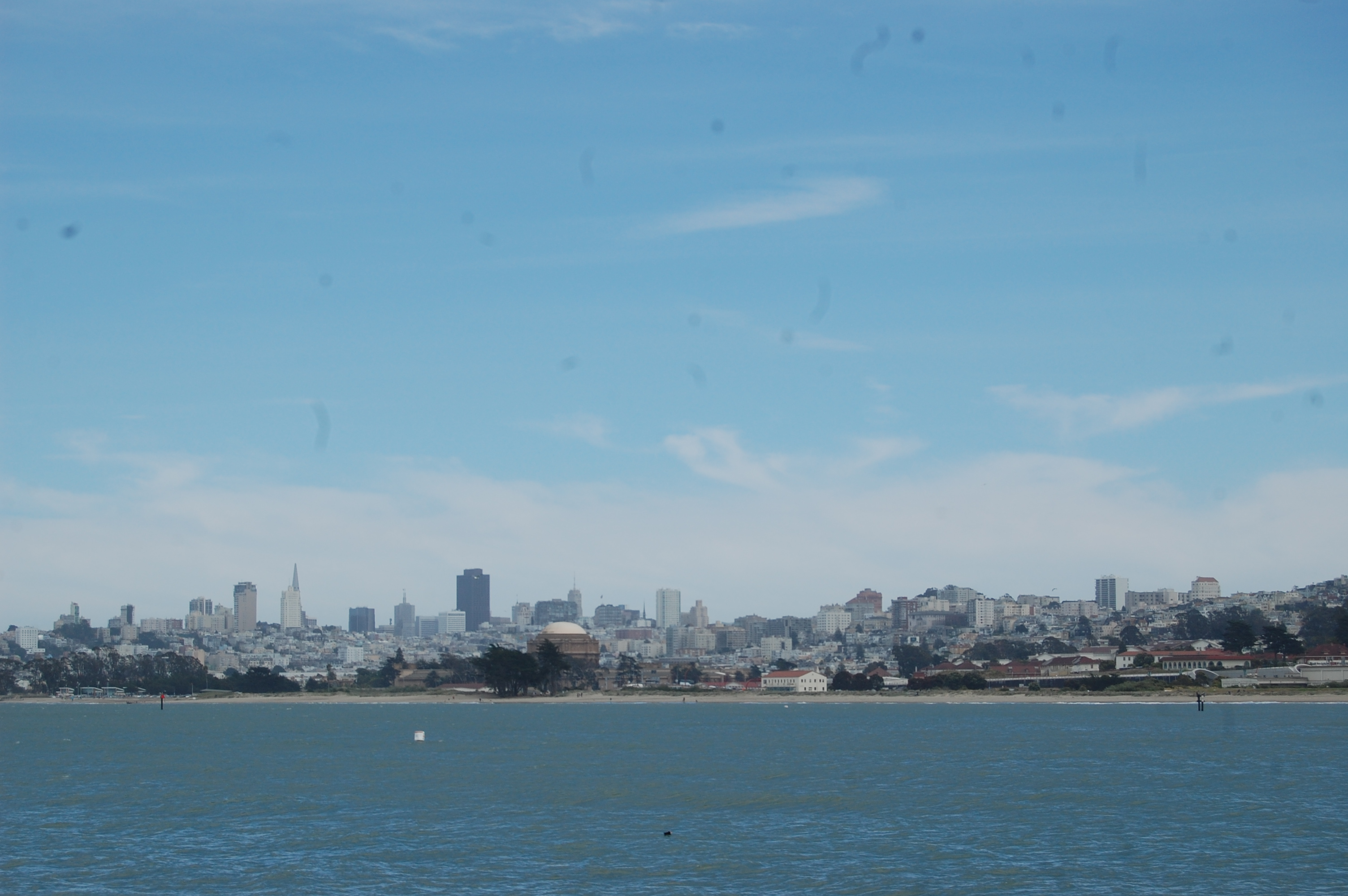 San Francisco Bay and Background View